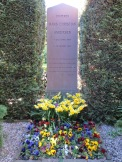 The grave of Hans Christian Andersen