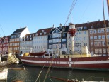 Oregon has lighthouses, but do we have a lighthouse boat? This one is owned by the National Museum but moored in Nyhavn