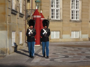 Guards at the Amalienborg