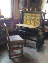 Does anyone need a writing desk this ornate?