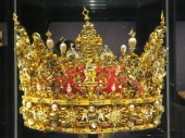 Old Danish crown