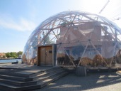 A house in a bubble---an experiment in green urban design