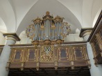The organ in the chapel