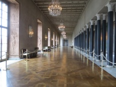 The Prince's Gallery, where the private reception for Nobel Prize winners is held