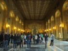 The Gold Hall is so shiny. It's also where the ball following the Nobel Prize banquet is held