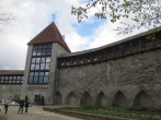 Tallinn supposedly has the best-preserved medieval wall, though some Italian towns might argue