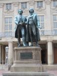 Goethe and Schiller in Weimar