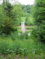 The garden of Goethe's summer home
