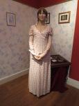 A waxwork model of Austen herself