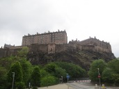Edinburgh Castle, from the bottom of the hill