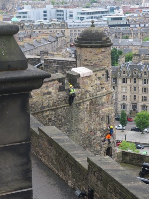 Sound the alarm! They're scaling the castle walls!