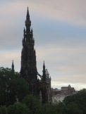 The Walter Scott monument is the world's largest monument to a writer