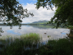 Lake of Menteith (the only lake that's not a loch!)