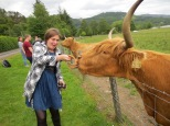 Feeding coos is actually a bit scary