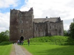 Doune Castle (which should look very familiar to Monty Python fans)
