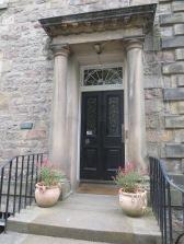 Sir Walter Scott's front door