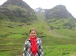 Glencoe mountains, the site of a famous massacre