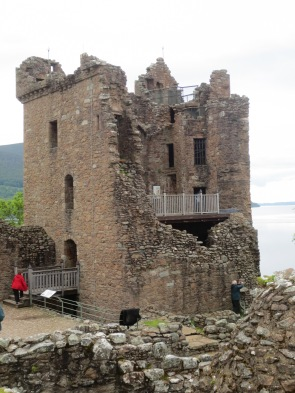 Urquhart Castle is no longer in the best of shape