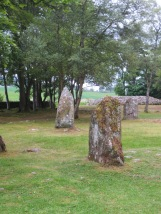 Circles of standing stones