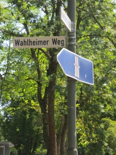 A convenient name for the road between Wetzlar and Wahlheim (Garbenheim)