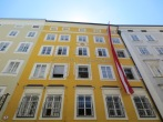 The house where Mozart was born